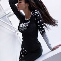 "Bona Fide: Rashguard Round Run Like Gepard ""Gray"""